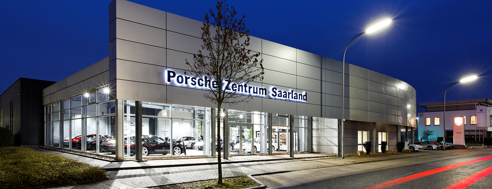 Le Centre Porsche de Saarland
